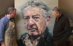 Contemporary visual artist Colin Davidson creates powerful and realistic portraits from his home in Belfast, North Ireland. His pieces are united by Painting People, Figure Painting, Colin Davidson, Realistic Rose, Realistic Paintings, Oil Paintings, My Art Studio, Portrait Art, Portrait Paintings