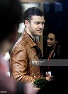 Singer and designer Justin Timberlake arrives to visit the stand if label William Rast at the Bread and Butter fashion trade fair at former Tempelhof Aiport on July 1, 2009 in Berlin, Germany. Bread and Butter will run from July 1-3.