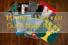 Harry Potter Quiet Book Pages - Today I Felt Crafty
