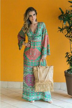 Swans Style is the top online fashion store for women. Shop sexy club dresses, jeans, shoes, bodysuits, skirts and more. Modest Fashion, Hijab Fashion, Boho Fashion, Fashion Dresses, Fashion Vestidos, Maxi Outfits, Boho Outfits, Simple Dresses, Casual Dresses