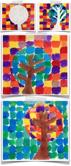 Loretta Grayson Projects For Kids, Crafts For Kids, Ecole Art, Art Classroom, Classroom Ideas, Art Plastique, Famous Artists, Landscape Art, Art Education