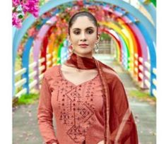 Buy Radhika presents Azara Elee Pure Glass Cotton Print With Self Embroidery Suit 1007 Embroidery Suits, Presents, Pure Products, Lace, Cotton, Collection, Fashion, Gifts, Moda