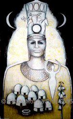 Lunar-Queen, monica sjoo