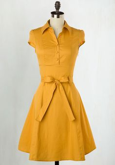 Soda Fountain Dress in Ginger, @ModCloth