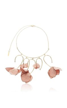 Statement necklace, golden necklace, delicate and elegant jewelry