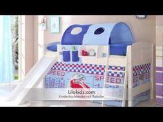 Kinderbetten, Spielbetten mit Rutsche von Lilokids I Kids beds with slide Video