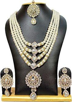 Exclusive Jewellery Ethnic Indian Bollywood Designer Pear... https://www.amazon.com/dp/B01MDR1UD9/ref=cm_sw_r_pi_dp_x_tSXJybBNNPS6Z