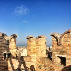 Torre dei Gualtieri di San Benedetto del Tronto ammiriamo la città dall'alto #ilikemarche