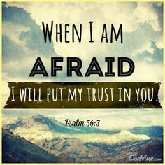 Psalm 56:3   https://www.facebook.com/KnowingJesusTogether/photos/542076399234556