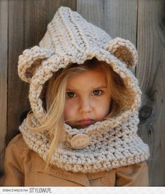 Modern Ewok hoodie hat thing!  Basically anything with ears is AWESOME!!