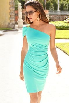 "Love this color ""Dresses & Skirts - Boston Proper For summer weddings"