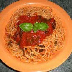 Spaghetti con peperoncino verde