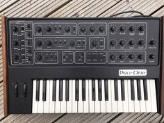 MATRIXSYNTH: Sequential Circuits Pro One Analog Synthesizer SN ...