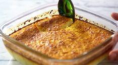 Πανεύκολο γλυκό φούρνου με καρύδα με 5 υλικά! Low Calorie Cake, Portuguese Recipes, Sweet Recipes, Banana Bread, Macaroni And Cheese, Food And Drink, Pudding, Sweets, Diet