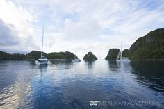 meridian_adventuresLook forward to peaceful contentment with an undercurrent of feverish excitement... #myMAmoment #meridianadventures #sailing #sailing #photooftheday #nature #travel #instagood #rajaampat #picoftheday