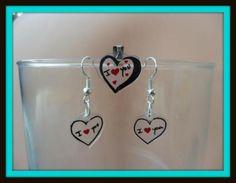 Shrink plastic earrings.Pendientes divertidos shrink plastic