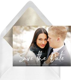 Casual & Trendy Save the Date in Black Create Invitations, Online Invitations, Save The Date Invitations, Fun Wedding Invitations, Digital Invitations, Invitation Cards, Save The Date Photos, Save The Date Cards, Guest List