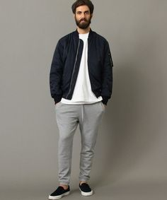 Look men cold Fall Fashion Outfits, Winter Fashion, Casual Outfits, Fashion Models, Mens Fashion, Fashion Trends, Stylish Men, Men Casual, Curvy Petite Fashion