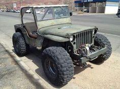 Jeep on 40's vortec v6
