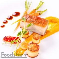 Sous Vide Pork Belly with Coconut Pumpkin Puree