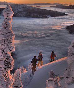 above the valley cloud Tag your pow crew . Ski Season, Windsurfing, Wakeboarding, Water Photography, Snow Skiing, Ski And Snowboard, Extreme Sports, Photos Du, Belle Photo