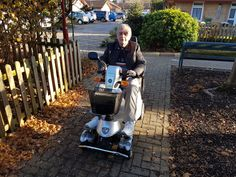Mr Wilson chose the Quingo Plus  mobility scooter which one will be perfect for you? Book a home test drive here http://contact.quingoscooters.com/social-mobility-scooters/