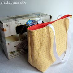How to sew a purse ANY size ...via Madigan Made