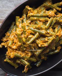 Sambal goreng boontjes Indian Food Recipes, Asian Recipes, Healthy Recipes, Ethnic Recipes, Vegetarian Recepies, Vegetable Recipes, Vegetarian Lifestyle, Indonesian Food, Indonesian Recipes