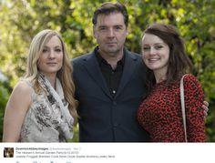 The Heaven's Annual Garden Party(6/12,2012) Joanne Froggatt,Brendan Coyle,Kevin Doyle,Sophie McShera,Lesley Nicol ..