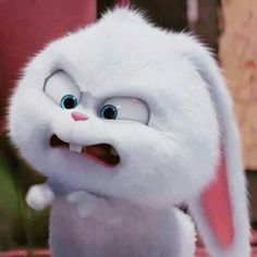 Pissed off 😠 Snowball Cute Bunny Cartoon, Cute Cartoon Pictures, Cartoon Profile Pics, Cartoon Pics, Rabbit Wallpaper, Bear Wallpaper, Cute Cartoon Characters, Cartoon Memes, Cartoons