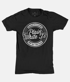 Visit this link and help #PlainWhiteT's and Not For Sale end human trafficking and slavery. www.notforsalestore.org/free2rock/plain-white-ts.html