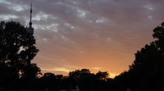 Donaupark Vienna, Austria Vienna Austria, Clouds, Celestial, Sunset, Outdoor, Beautiful, Outdoors, Sunsets, Outdoor Games