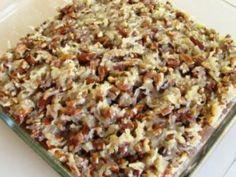 Rețetă Desert : Prajitura cu fulgi de ovaz (oats), nuca si nuca de cocos de Retete30minute