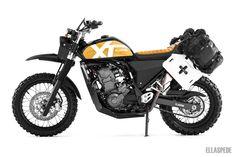 Ellaspede EB141 – 2014 Yamaha XT660R www.ellaspede.com