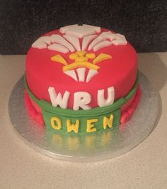 Welsh Rugby Shirt Cake Pasteles Pinterest Welsh Rugby Shirt - Mr tickle birthday cake