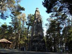 Monumento a Justo Rufino Barrios, Cerro Baul, Quetzaltenango. Foto por Juan Arturo Martínez l Sólo lo mejor de Guatemala