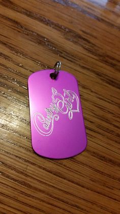 Country Girl Dog Tag https://www.etsy.com/listing/237000826/country-girl-doe-dog-tag
