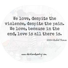 We Love by Rachel Firmin