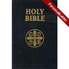 Douay Rheims Bible - Black Bonded Leather Cover | The Catholic Company #catholiccompany