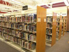 Newly organized Non-Fiction area.