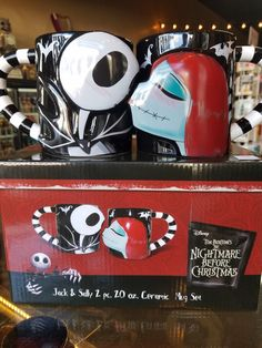 Who wouldn't love this Jack and Sally mug set! Only a few more days till Valentine's day and this set is only 36.95.