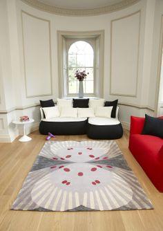 'Farfalla' Deirdre Dyson carpet