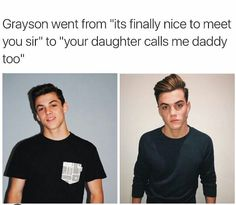He doesnt like being called daddy but love this