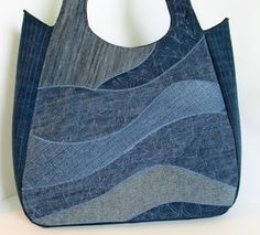 . 20 denim, diy bag, recycl project, denim bag