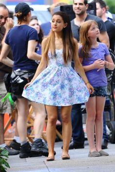 Ariana Grande. love love love the dress!