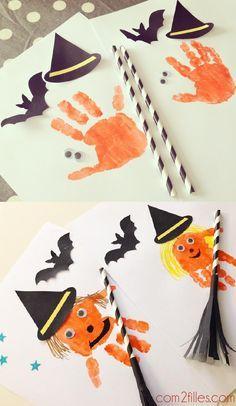 Des sorcières DIY à créer avec vos enfants !