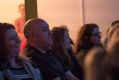 Me in the crowd at the Hollie McNish poetry performance