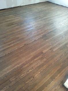Floor stain-  Bona Jacobean stain number 1 floor