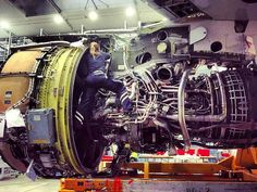 Engine Installation Day.. Go beyond boundaries and rise above your limitations #girl  #power  Metal Doctors   We Fix  You Fly   Fuel your Passion! Ignite  your Vibes!  Take note Aircraft Maintenance Engineers are the human hero behind airworthiness    Click the link in our bio to get your Aviator  accessories.  www.aviationvibesstore.com  Worldwide  shipping .  Follow @aviationvibes _____________________________________________  Feel the vibes! Follow  @aviationvibes .  Ignite your vibes…