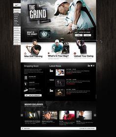 The Grind, Nike, Website